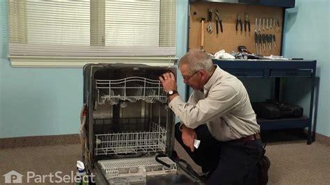 dishwasher repair replacing  door seal whirlpool