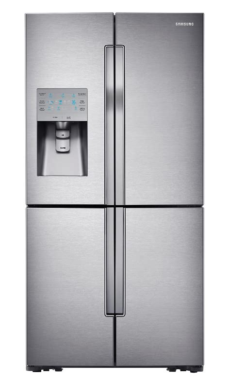 samsung four door refrigerator samsung rf32fmqdbsr 31 7 cu ft 4 door flex refrigerator