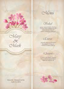 free wedding menu templates 27 wedding menu templates free sle exle format free premium templates