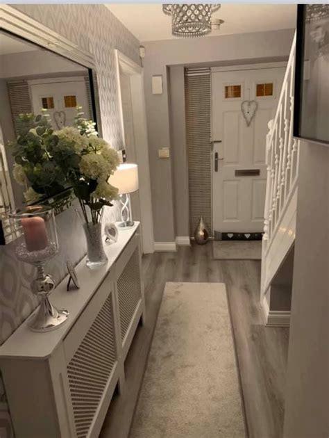 love  classy  house interior decor hallway