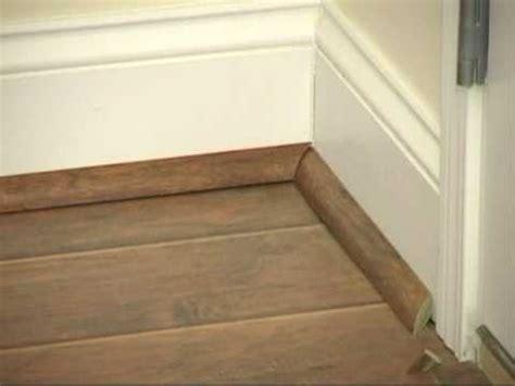 installing quarter on baseboards laminate flooring install laminate flooring quarter round