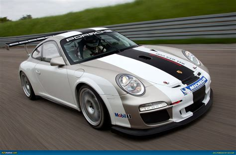 New Porsche 911 Gt3 Cup Car Unveiled