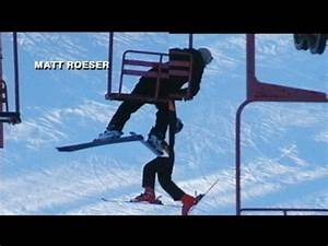 Caught on Tape: Teen Falls Off Chair Lift - YouTube