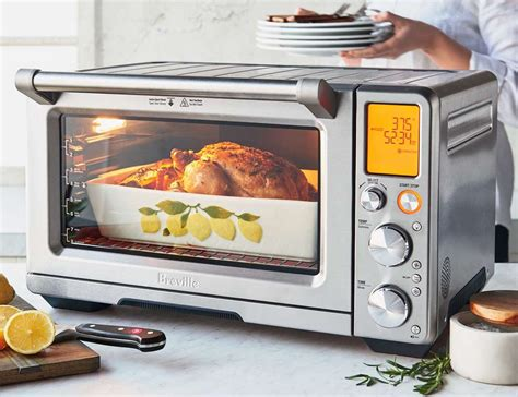 Small Countertop Ovens by Breville Smart Countertop Oven Air 187 Gadget Flow