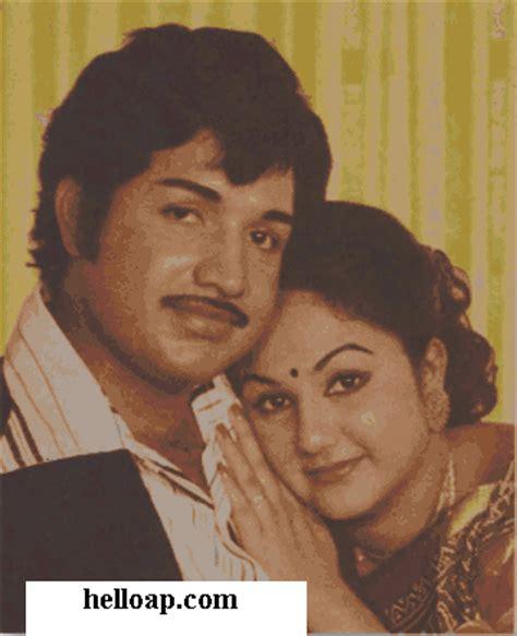 Actress Manjula Childhood Photos and with Vijayakumar