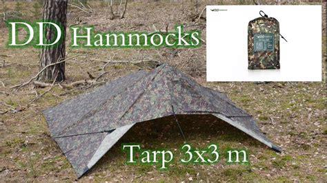 Dd Hammocks Review by Dd Hammocks Tarp Setup Zelt Und Gear Review
