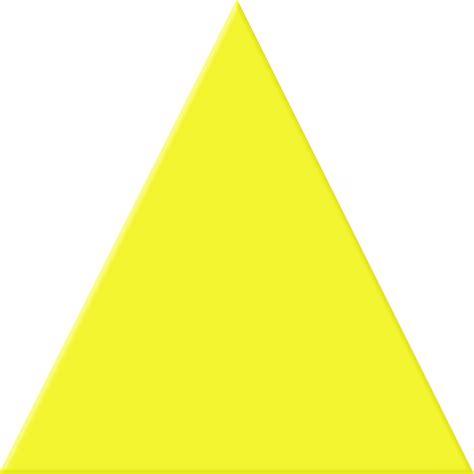yellow triangle cliparts   clip art