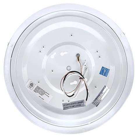 12 quot dimmable led flush mount ceiling light 105 watt