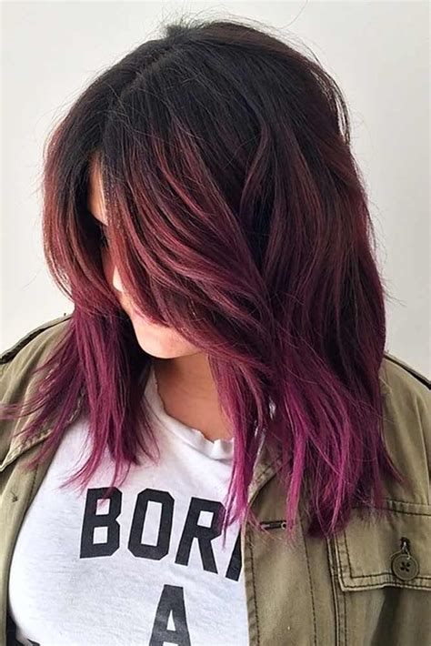 hair dye style trendy hair color check out these gorgeous burgundy hair 6514