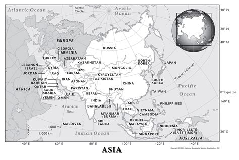 asia human geography national geographic society