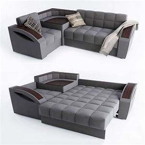 corner sofa bed montreal with a left angle hoff 3d With sofa bed montreal