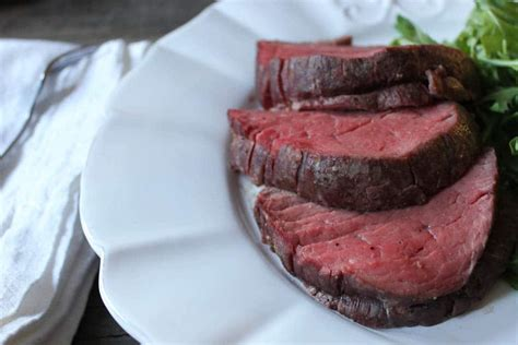 This tough tissue never tenderizes, is tough to cut through, and just doesn't taste very good if left on the meat. Slow-Roasted Beef Tenderloin with Rosemary- Domesticate ME!