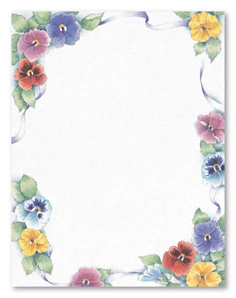 Pretty Paper Border Templates