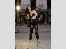 Jessie J in Leather on Masterpiece set 05 GotCeleb