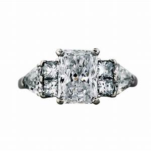 radiant cut diamond engagement ring boca raton With radiant cut diamond wedding rings