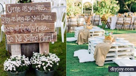 diy ideas   outdoor wedding