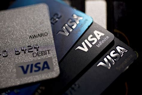Visa doesn't actually issue cards directly to consumers but instead provides a visa credit card processing system and brand and those banks and other businesses that issue the visa cards set their own interest rates, create their own rewards programs, send out their own offers, and provide their own credit card customer service. A New Visa Credit Card Offers Bitcoin Rewards Instead of Miles or Cash : Bitcoin
