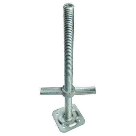 MetalTech 24 in. Adjustable Leveling Jack M MBSJP24H   The