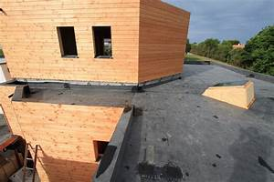 isolation toit terrasse bois evtod With toit terrasse en bois