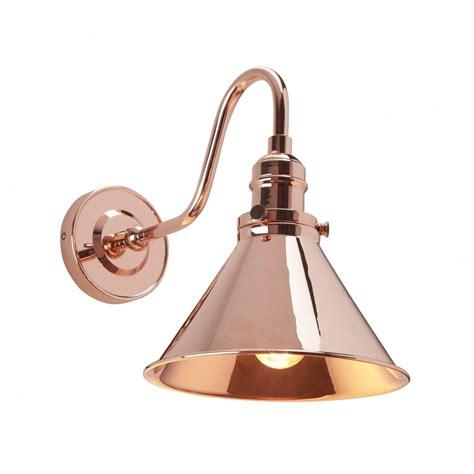 industrial copper wall light industrial copper single wall light