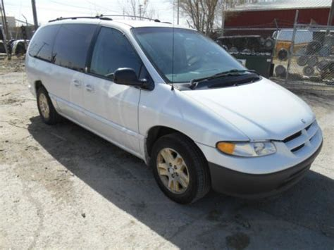 auto body repair training 1997 dodge caravan parking system purchase used 1997 dodge grand caravan le es 3 8l white 7 passenger van daily driver in
