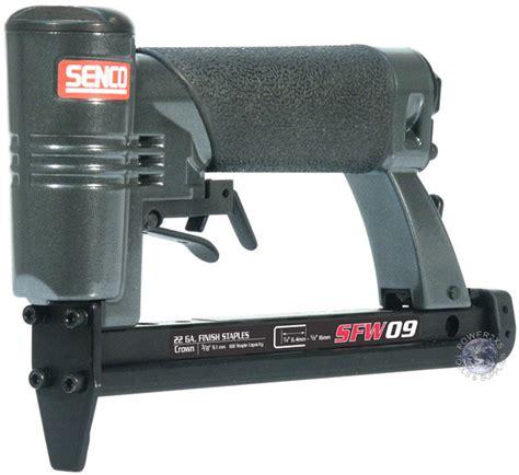 Senco Upholstery Stapler by Senco Sfw09 3 8 Quot Crown Wire Upholstery Stapler New Ebay
