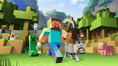 Minecraft Pixels Games Desktop Wallpapers Backgrounds Mobile