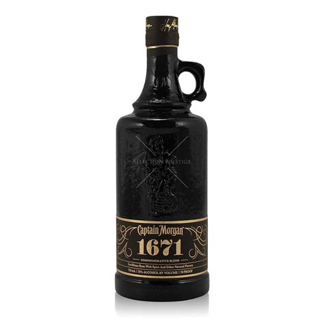 Captain Morgan 1671 Commemorative Blend Limited Edition