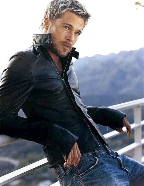 Give To Me Your Leather by Dear Brad Pitt Give Me Your Leather Jacket And Your
