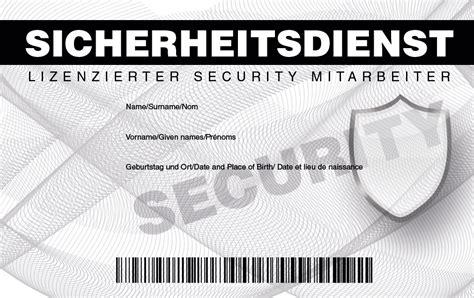 securityausweis falscher ausweisde