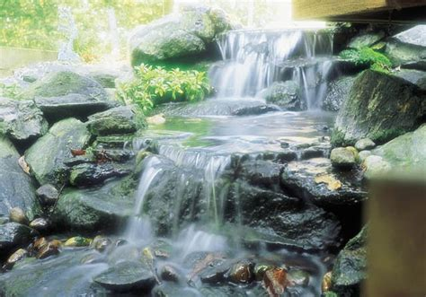 Waterfall Aquascape by Aquascape Your Landscape Rustic Waterfalls Add Drama To A
