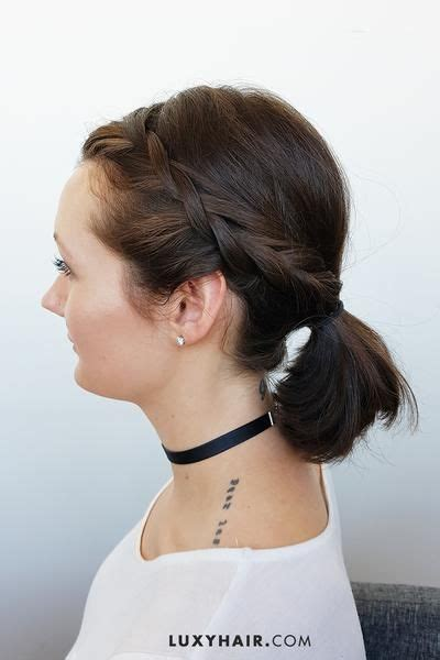 cute hairstyles for short hair and medium length hair