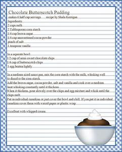 full page recipe template for word it resume cover With full page recipe template for word