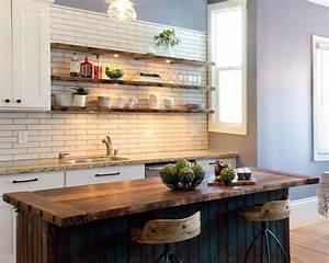 23 Rustic Kitchen Shelving Ideas for Modern Kitchen EVA