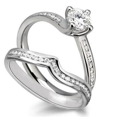 diamond shoulder ring with matching band dhdomdsr15dswr15 diamond heaven