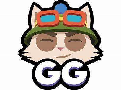 Teemo Gg Dribbble Lol Head Welcome Riot