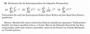 Normalspannung Berechnen : konvergenzradien bestimmen und konvergenzverhalten ~ Themetempest.com Abrechnung