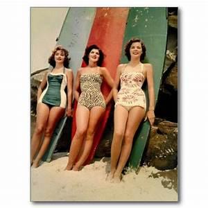 Retro 1960's Swimwear, Beachwear and Surf Fashion