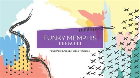 funky memphis funky powerpoint themes  google