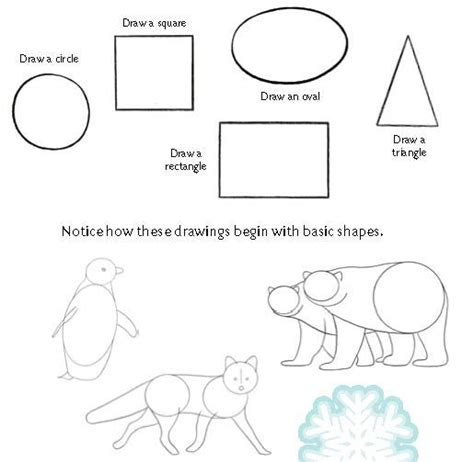 pictures  shapes  draw animals drawings art gallery