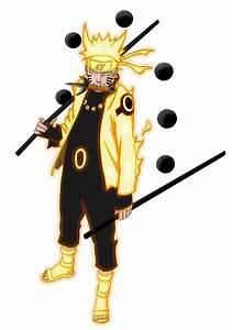 Uzumaki Naruto - Six Paths Sage Mode by RedCZ on DeviantArt