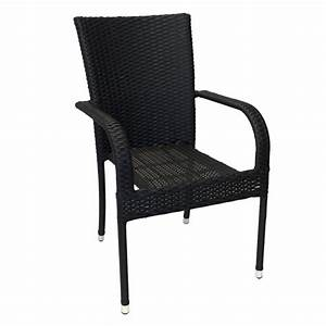 Gartenstühle Polyrattan Grau : poly rattan gartenstuhl schwarz garten gartenm bel ~ Lateststills.com Haus und Dekorationen