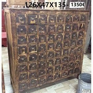 Meuble D Apothicaire : meuble apothicaire antique meubles ~ Teatrodelosmanantiales.com Idées de Décoration