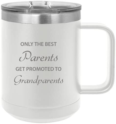Product titledixie to go paper hot cups w/lids, 12 oz, 156 count. Only the Parents Get Promoted to Grandparents Stainless Steel Vacuum Insulated 15 Oz Engraved ...