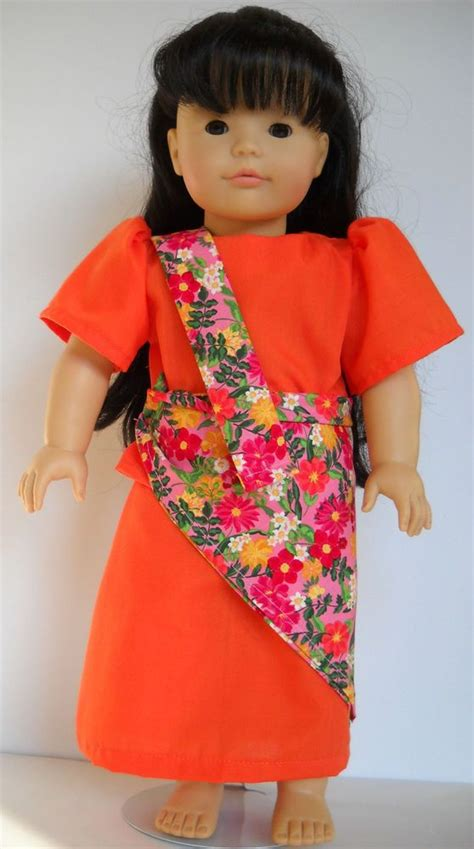 Fits 18u0026quot; American Girl or Gotz doll Philippines Filipino clothes C (COSTUME ONLY | Philippines ...