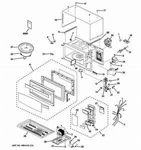 Ge Pem31dm3ww Countertop Microwave Parts
