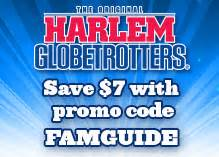 fan exchange promo code flight time big easy and the harlem globetrotters are