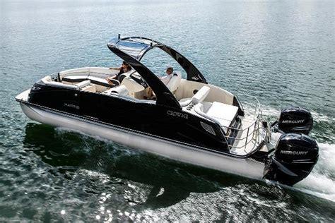 harris crowne dl  twin engine pontoon boats