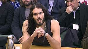 Russell Brand dresses down for appearance before MPs ...