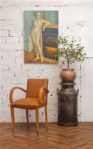 Fauteuil Cuir Camel : fauteuil bridge ancien vintage ann es 50 50s 1950 simili cuir camel ~ Teatrodelosmanantiales.com Idées de Décoration